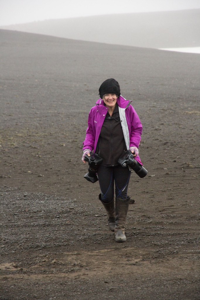 Julie Stephenson in the Iceland and Greenland landscape-203
