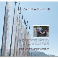 Bhutan book vintage car journey